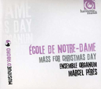 École de Notre-Dame. Mass for Christmas Day
