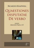 Questiones disputatae de verbo